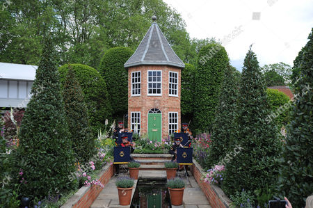 Chelsea Flower Show - Day 1: Male Designer Pictured: The Harrods British Eccentrics Garden Designed By Diarmuid Gavin.