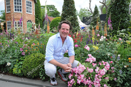 Chelsea Flower Show - Day 1: Male Designer Pictured: The Harrods British Eccentrics Garden Designed By Diarmuid Gavin (pictured).