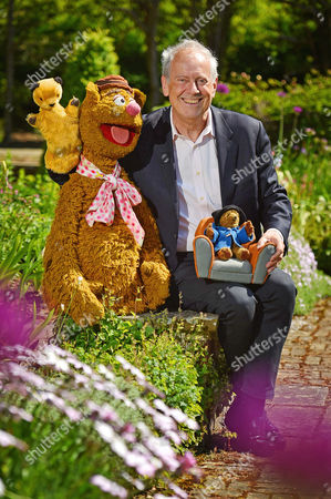 Collection Of Teddy Bears From Broadcaster And Former MP Giles Brandreth (pictured With Fozzie Bear Sooty And Paddington Bear) Gifted To Newby Hall Ripon North Yorkshire In A New Permanent Exhibition.   24/5/16.