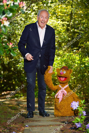 Collection Of Teddy Bears From Broadcaster And Former MP Giles Brandreth (pictured With Fozzie Bear) Gifted To Newby Hall Ripon North Yorkshire In A New Permanent Exhibition.   24/5/16.