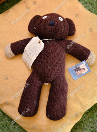 Mr Bean's Bear. Collection Of Teddy Bears From Broadcaster And Former MP Giles Brandreth Gifted To Newby Hall Ripon North Yorkshire In A New Permanent Exhibition.   24/5/16.