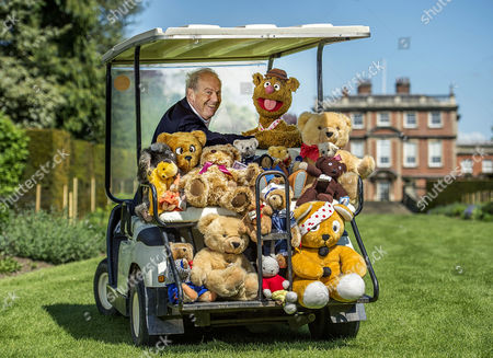 Collection Of Teddy Bears From Broadcaster And Former MP Giles Brandreth Gifted To Newby Hall Ripon North Yorkshire In A New Permanent Exhibition.   24/5/16.