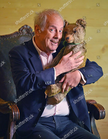 Collection Of Teddy Bears From Broadcaster And Former MP Giles Brandreth (pictured With One Of The Collections Oldest Bears From 1910) Gifted To Newby Hall Ripon North Yorkshire In A New Permanent Exhibition.   24/5/16.