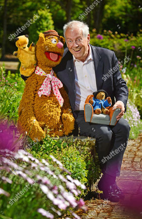 Editorial photo of Collection Of Teddy Bears From Broadcaster And Former Mp Giles Brandreth (pictured With Fozzie Bear Sooty And Paddington Bear) Gifted To Newby Hall Ripon North Yorkshire In A New Permanent Exhibition. Pic Bruce Adams / Copy Brooke -24/5/16.