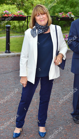 Nerys Hughes Attends Carla Lane Funeral At Liverpool Anglican Cathedral Liverpool Merseyside.Manc - 9/6/16.