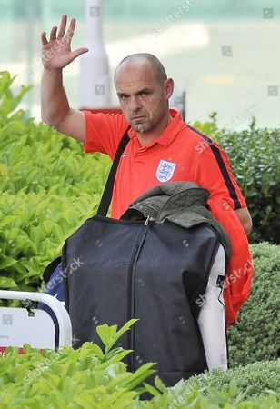 Danny Murphy Leaves The Lowry Hotel Manchester After Appearing In Charity Football Match Socceraid At Man Utd. Old Trafford Stadium. - 6/6/16.