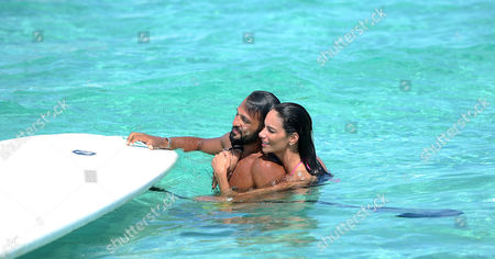 Millionaire Party People Celeb And Professional Boxer Joe Fournier Appears To Be Over His Conflict With Nicole Scherzinger As He Parties On A Yacht From Miami To The Bahamas With Friends.