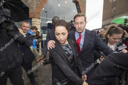 Editorial photo of Former Chelsea Team Doctor Eva Carneiro Leaving Croydon Industrial Tribunal After Settling Her Constructive Dismissal For Breach Of Contract And Sexual Discrimination Following Row With The Club's Then Manager Jose Mourinho. Carneiro Left The Club C