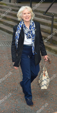 Wendy Craig Attends Carla Lane Funeral At Liverpool Anglican Cathedral Liverpool Merseyside.Manc - 9/6/16.