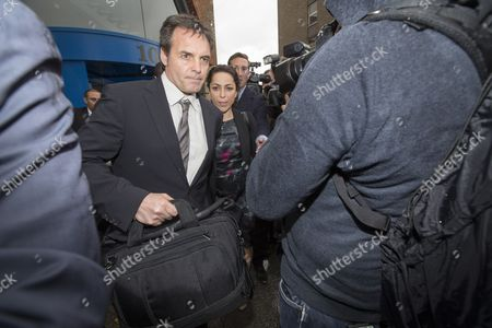 Former Chelsea Team Doctor Eva Carneiro Leaving Croydon Industrial Tribunal After Settling Her Constructive Dismissal For Breach Of Contract And Sexual Discrimination Following Row With The Club's Then Manager Jose Mourinho. Carneiro Left The Club Claiming Constructive Dismissal After Being Downgraded By Mourinho For Offering Treatment To Eden Hazard Whilst The Team Were Already Down To 10 Men In A Premier League Match Against Swansea In August 2015.  07/6/2016 Reporter Sam Greenhill.