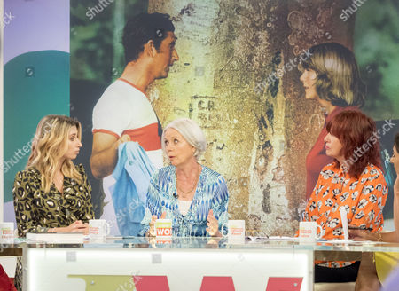 Stacey Solomon, Penny Junor and Janet Street-Porter