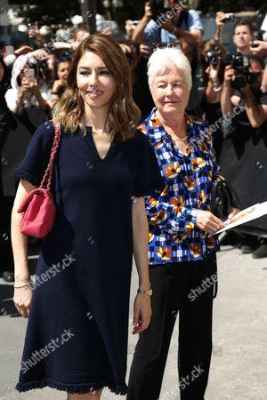 Sofia Coppola and mother Eleanor Coppola