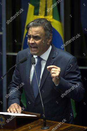 Stock Image of Aecio Neves