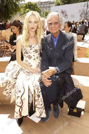 Daria Strokous and Patrick Demarchelier