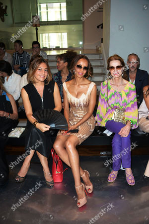 Shirley Bousquet, Sonia Rolland and Cyrielle Clair