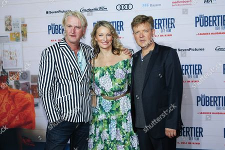 Editorial image of Premiere of Das Pubertier - The Movie, Munich, Germany - 04 Jul 2017