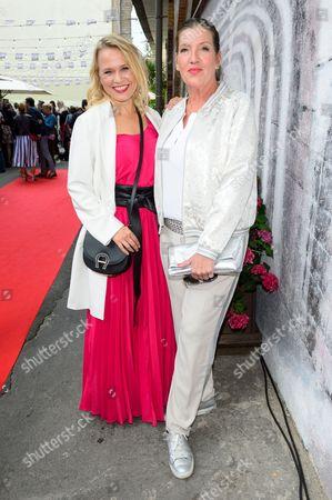 Nova Meierhenrich and Katy Karrenbauer