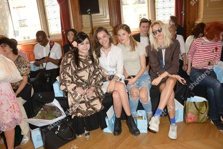 Stock Image of Michelle Zwaal, Famke Louise, Beaudine Jael