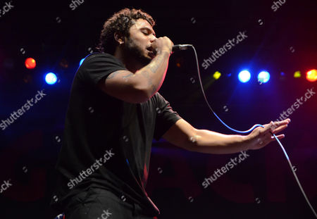 Rapper Joey Purp performs live at Henry Maier Festival Park during Summerfest in Milwaukee, Wisconsin