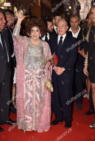Gina Lollobrigida, Gianni Letta
