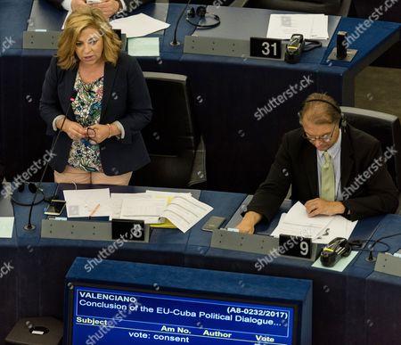 Editorial image of European Parliament in Strasbourg, France - 05 Jul 2017