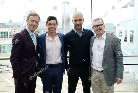 Editorial photo of An Evening with Rory McIlroy in conversation with Pep Guardiola, 77 - 04 Jul 2017