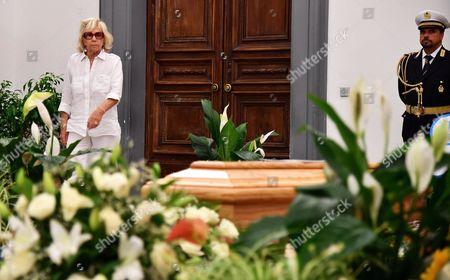 Editorial picture of Homage to Paolo Villaggio in Rome, Italy - 05 Jul 2017