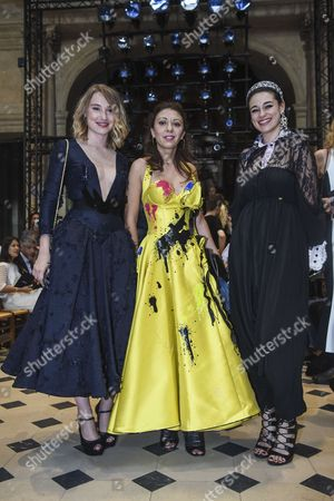 Editorial picture of Julien Fournie show, Front Row, Fall Winter 2017, Haute Couture Fashion Week, Paris, France - 04 Jul 2017
