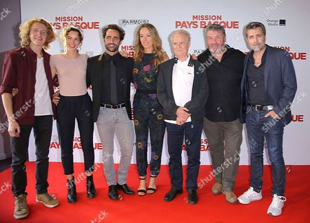 Editorial picture of 'Mission Pays Basque' film premiere, Paris, France - 04 Jul 2017