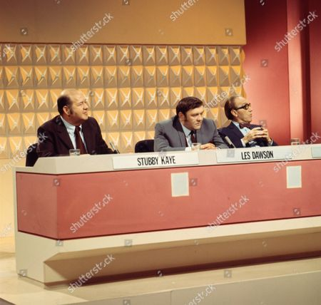 Stubby Kaye, Les Dawson, Arthur Askey