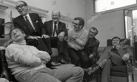 Barry Cryer, Les Dawson, Arthur Askey, Clive Dunn, Ray Martine and Ted Ray