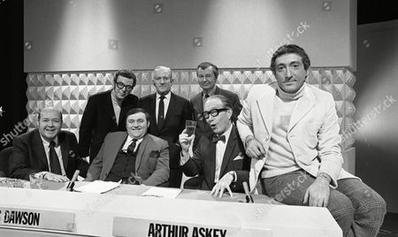 Stubby Kaye, Barry Cryer, Les Dawson, Arthur Askey, Clive Dunn, Ray Martine and Ted Ray