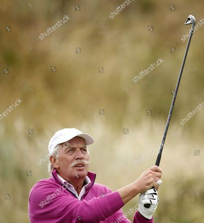 Dermot Desmond on the 7th hole