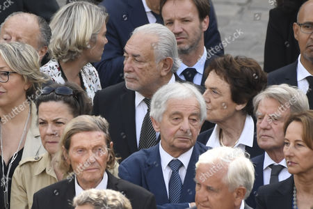 Editorial image of Ceremony to pay tribute to late Simone Veil in Paris, France - 05 Jul 2017