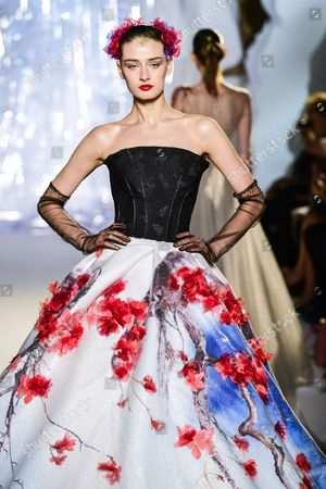 Editorial image of Laurence Xu show, Fall Winter 2017, Haute Couture Fashion Week, Paris, France - 04 Jul 2017