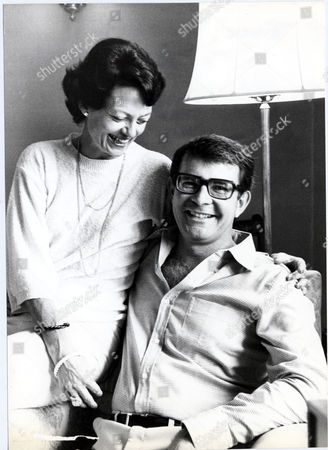 Editorial image of Wilbur Smith Writer. Picture Shows Wilbur Smith With His Wife Danielle Thomas (died 1999).