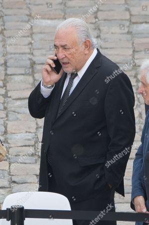 Stock Photo of Dominique Strauss-Kahn