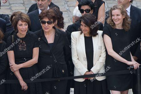 Editorial image of France Simone Veil memorial ceremony, Paris, France - 05 Jul 2017