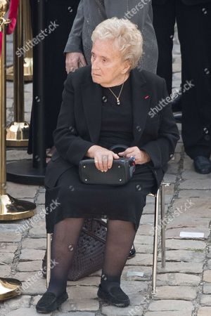 Stock Picture of Bernadette Chirac