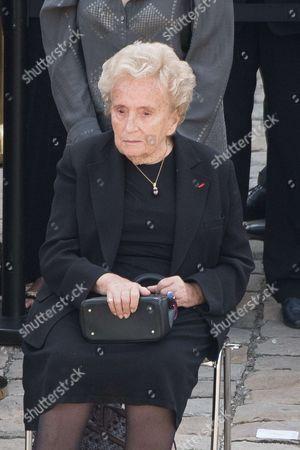 Stock Image of Bernadette Chirac