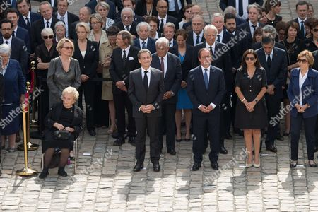 Editorial image of France Simone Veil memorial ceremony, Paris, France - 05 Jul 2017