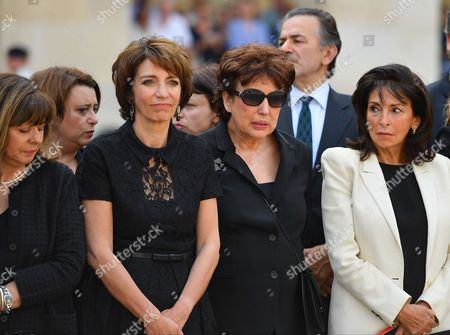 Stock Image of Marisol Touraine, Roselyne Bachelot and Nicole Guedj
