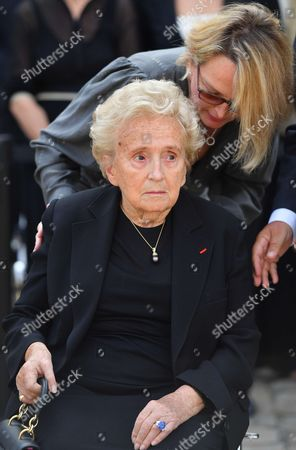 Editorial photo of Simone Veil memorial ceremony, Paris, France - 05 Jul 2017