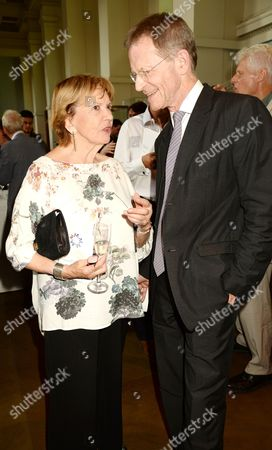 Joan Bakewell and Sir Nicholas Serota