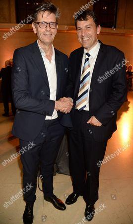 David Liddiment and John Glen