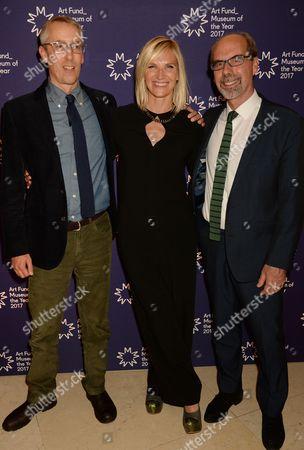 Simon Wallis, Jo While and Stephen Deuchar