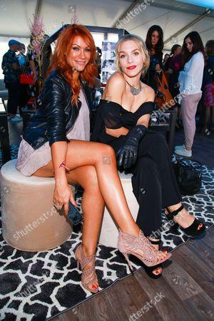 Yasmina Filali and Julia Dietze