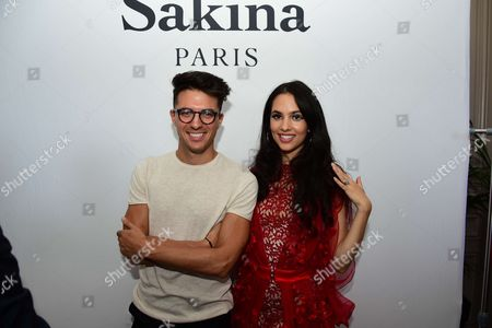 Ludovic Baron and Sakina