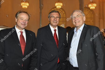 Stock Picture of Dirk Niebel, Dr. Wolfgang Gerhardt, Michael Vesper