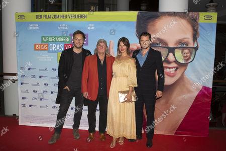 Jessica Schwarz, Felix Klare, Christoph Letkowski and Pepe Danquart